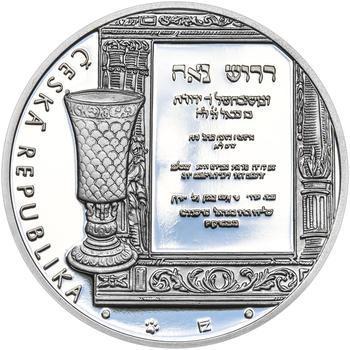 RABÍ JEHUDA LÖW – návrhy mince 200 Kč - sada II. tří Ag medailí 34 mm Proof v etui - 5
