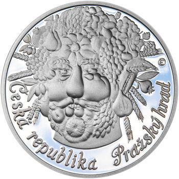 RUDOLF II. – návrhy mince 200 Kč - sada tří Ag medailí 34 mm Proof v etui - 5