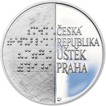 ALOYS KLAR – návrhy mince 200 Kč - sada tří Ag medailí 34 mm Proof v etui - 5
