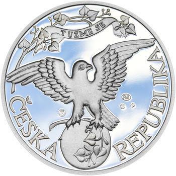 ZALOŽENÍ SOKOLA – návrhy mince 200 Kč - sada tří Ag medailí 34 mm Proof v etui - 5
