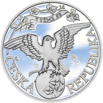 ZALOŽENÍ SOKOLA – návrhy mince 200,-Kč - sada tří Ag medailí 34mm Proof v etui - 5