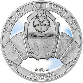 PETR VOK Z ROŽMBERKA – návrhy mince 200 Kč - sada tří Ag medailí 34 mm Proof v etui - 5