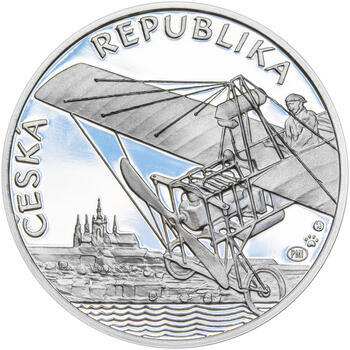 JAN KAŠPAR – návrhy mince 200 Kč - sada tří Ag medailí 34 mm Proof v etui - 5