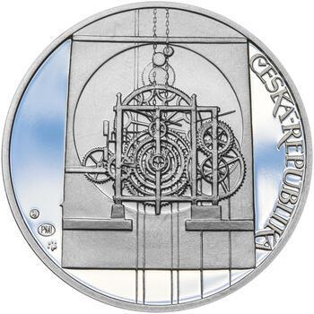 STAROMĚSTSKÝ ORLOJ – návrhy mince 200 Kč - sada tří Ag medailí 34 mm Proof v etui - 5