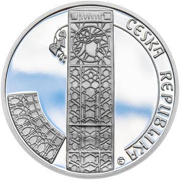 OBECNÍ DŮM V PRAZE – návrhy mince 200,-Kč - sada tří Ag medailí 34mm Proof v etui - 5