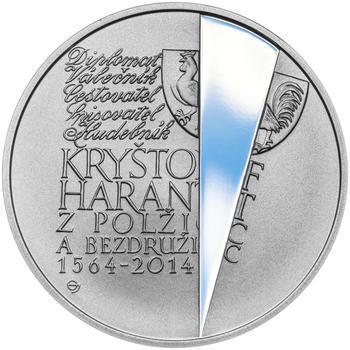 KRYŠTOF HARANT – návrhy mince 200 Kč - sada tří Ag medailí 34 mm Proof v etui - 6