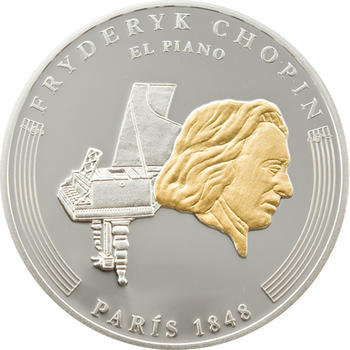 2009 - Frédéric Chopin ann. coin set Ag Proof - Andorra - 6