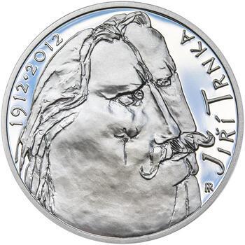 JIŘÍ TRNKA – návrhy mince 500 Kč - sada tří Ag medailí 34 mm Proof v etui - 6