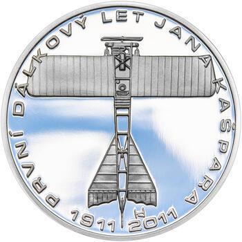 JAN KAŠPAR – návrhy mince 200 Kč - sada tří Ag medailí 34 mm Proof v etui - 6