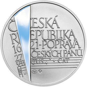 KRYŠTOF HARANT – návrhy mince 200 Kč - sada tří Ag medailí 34 mm Proof v etui - 7