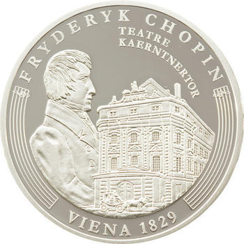 2009 - Frédéric Chopin ann. coin set Ag Proof - Andorra - 7