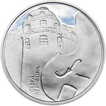 PRAŽSKÁ KONZERVATOŘ – návrhy mince 200 Kč - sada tří Ag medailí 34 mm Proof v etui - 7