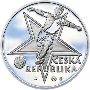 JOSEF BICAN – návrhy mince 200,-Kč - sada tří Ag medailí 34mm Proof v etui - 7