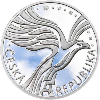 ZALOŽENÍ SOKOLA – návrhy mince 200 Kč - sada tří Ag medailí 34 mm Proof v etui - 7