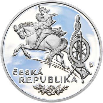 KAREL JAROMÍR ERBEN – návrhy mince 500 Kč - sada tří Ag medailí 34 mm Proof v etui - 7