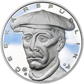 JAN KAŠPAR – návrhy mince 200 Kč - sada tří Ag medailí 34 mm Proof v etui - 7