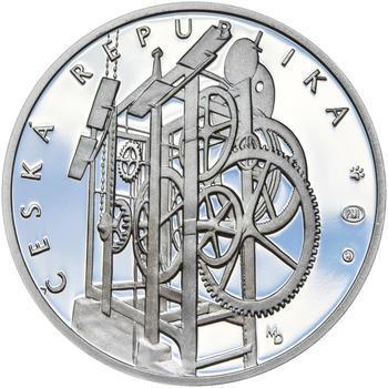 STAROMĚSTSKÝ ORLOJ – návrhy mince 200 Kč - sada tří Ag medailí 34 mm Proof v etui - 7