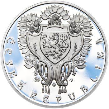 OBECNÍ DŮM V PRAZE – návrhy mince 200 Kč - sada tří Ag medailí 34 mm Proof v etui - 7