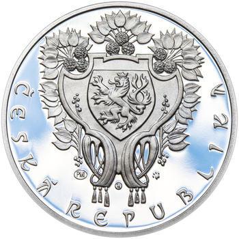 OBECNÍ DŮM V PRAZE – návrhy mince 200,-Kč - sada tří Ag medailí 34mm Proof v etui - 7